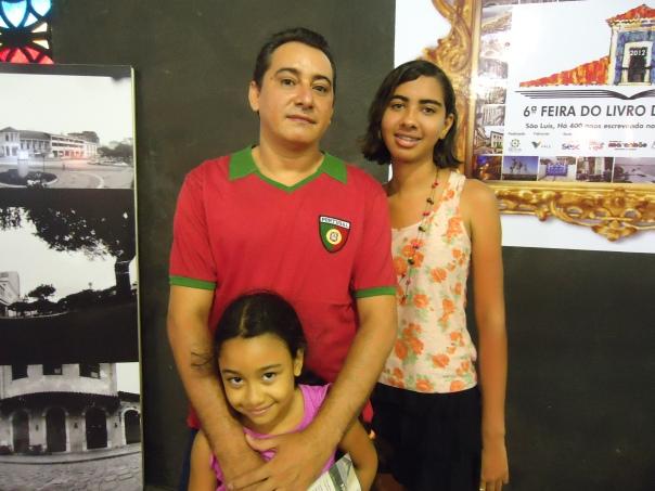 Edmilson Pinheiro e família.