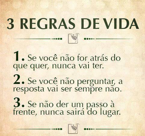 3 - Regras das  vida